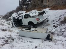 Truck Roll-Over February 27, 2015